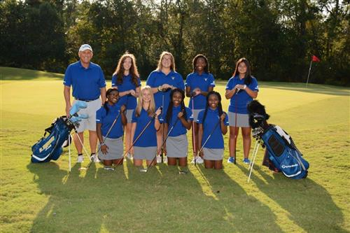 image of lhs girls' golf team