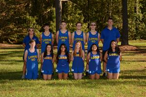 image of cross country team