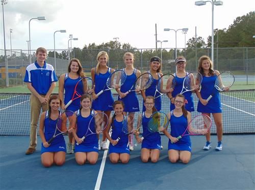 image of tennis team