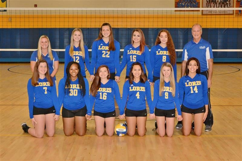 image of varsity volleyball team