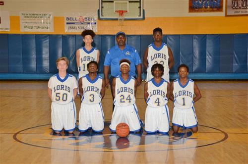image of JV boys team
