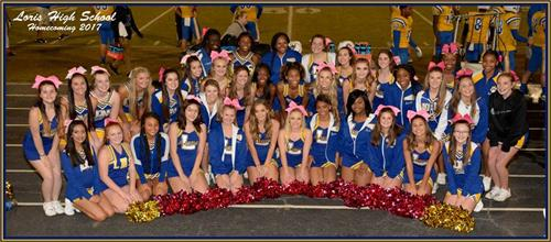 image of cheerleaders
