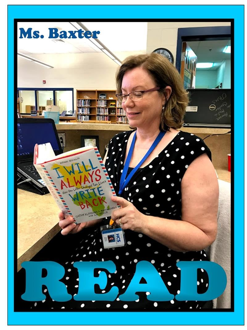Library Aide, Mrs. Baxter