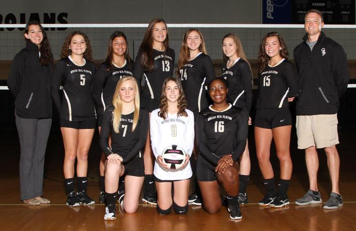 Varsity Volley Team Photo