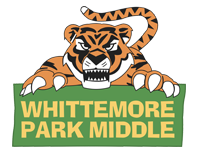 Whittemore Park Tiger logo