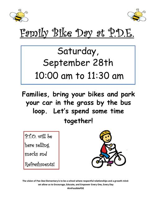 Bike Day at PDE