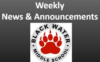 BWMS Announcements