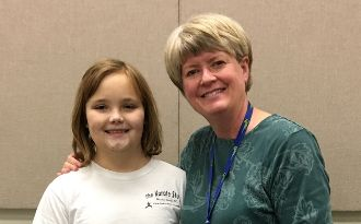 Burgess student will perform with State Elementary Honors Choir