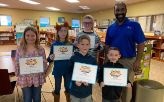 Student Kona Ice Character Award Quarterly Winners