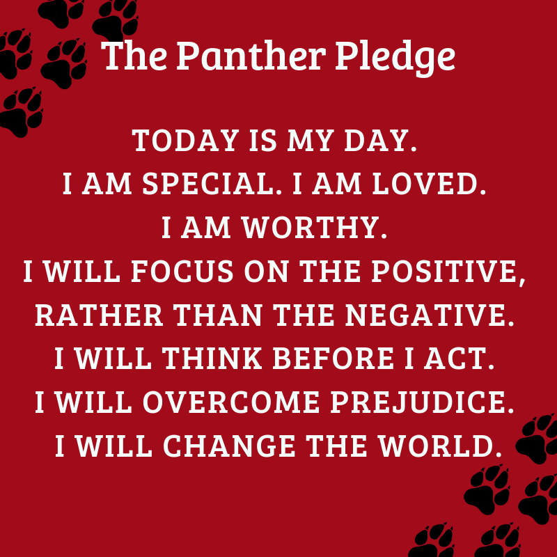 The Panther Pledge