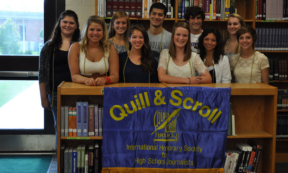 Honor Societies / Quill and Scroll Honor Society