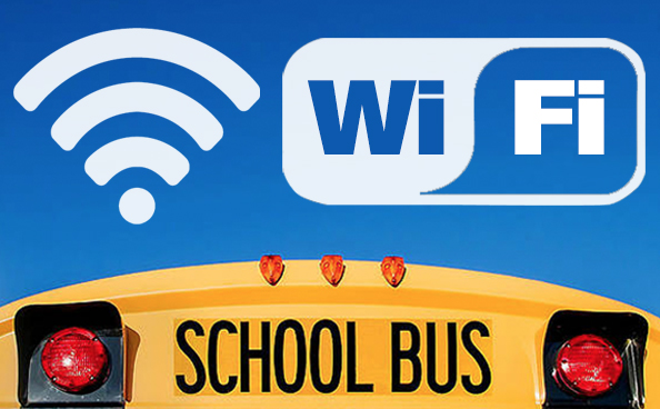 Beginning on Tuesday, April 21, 2020, HCS will offer Bus WiFi Access for students.