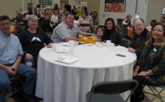 A big thank you to everyone who joined us for Thanksgiving lunch.  We are truly blessed.
