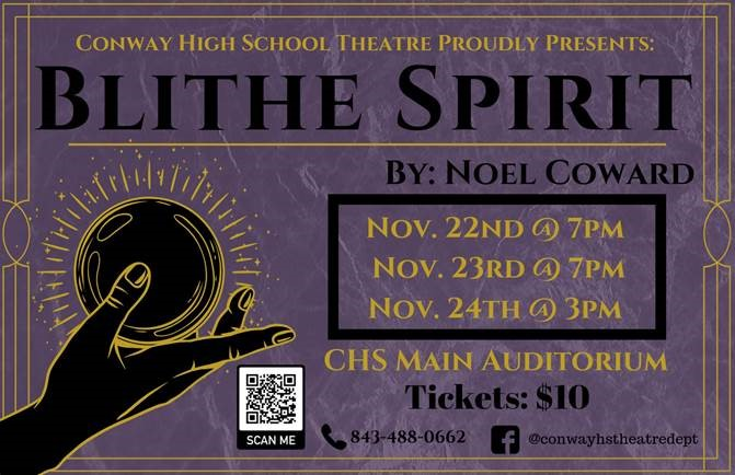 CHS Theatre Presents Blithe