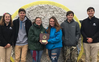 Congratulate our Soil Judging CDE Team