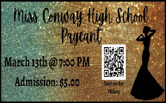 20-21 Miss Conway High Pageant