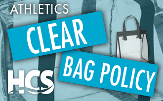 HCS Announces Athletics Clear Bag Policy