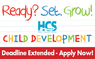 Apply now for the HCS Child Development Program