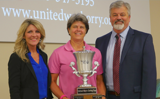 Carolina Forest High presented with the Horry County Caring Cup
