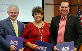 Richardson, Smith, and Winters recognized by SCSBA