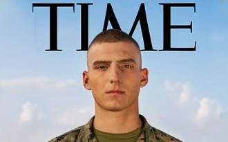 Former Myrtle Beach Seahawk, Gregory Grammer, makes the cover of TIME magazine