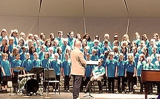 32 Elementary students perform in the South Carolina Elementary Honor Choir