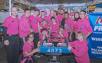The 15th Annual Palmetto Regional FIRST Robotics Competition