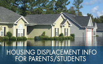 Housing displacement info for parents/students