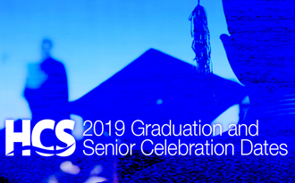 2018-19 HCS graduation dates and senior celebrations