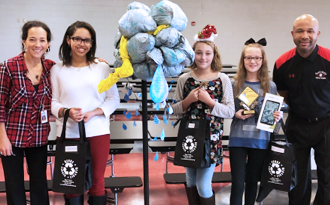 Black Water Middle School Student Wins Recycled Art Contest