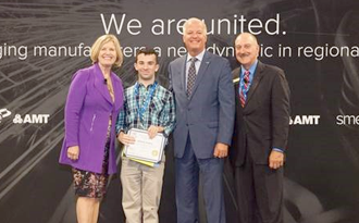 HCS student selected as a Rising Star for SME's SOUTH-TEC event