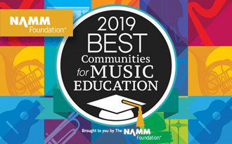 HCS receives national recognition for music education