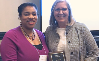 Quigley wins prestigious Mentoring Award from the South Carolina Council for Exceptional Children