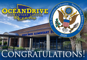 Ocean Drive Elementary Named A National Blue Ribbon School