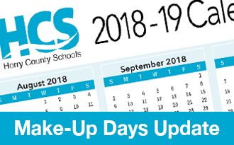 HCS Make-up days update