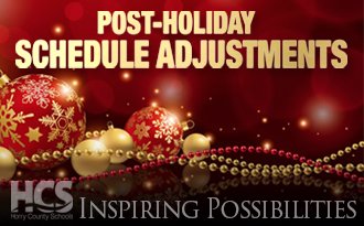 Post-Holiday Schedule Adjustment