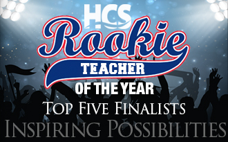 Five finalists have been named in Horry County Schools' Rookie Teacher of the Year recognition program.