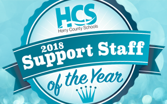 2018 HCS Support Staff finalist