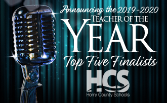 HCS announces the top five finalists for Teacher of the Year