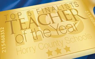 HCS Top 5 Teacher of the Year Finalists