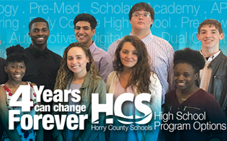 Apply now for HCS High School Options