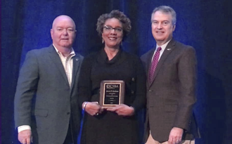 Horry County Board of Education Member Janet P. Graham was recognized at the South Carolina School Boards Association 2020 Annual Convention