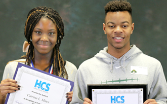Students honored for perfect attendance