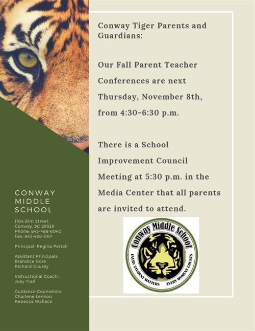 fall parent teacher conferences