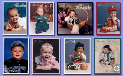 8th Graders-Want to have your baby picture in the yearbook???