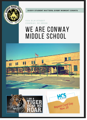 C.M.S. 1st Quarter Newsletter 2018-2019