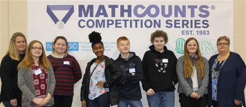 MathCounts Team and Coaches