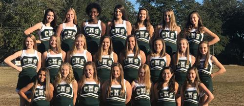 2017-2018 C.M.S. Cheerleaders
