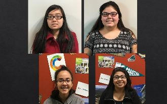The four March Students of the Month