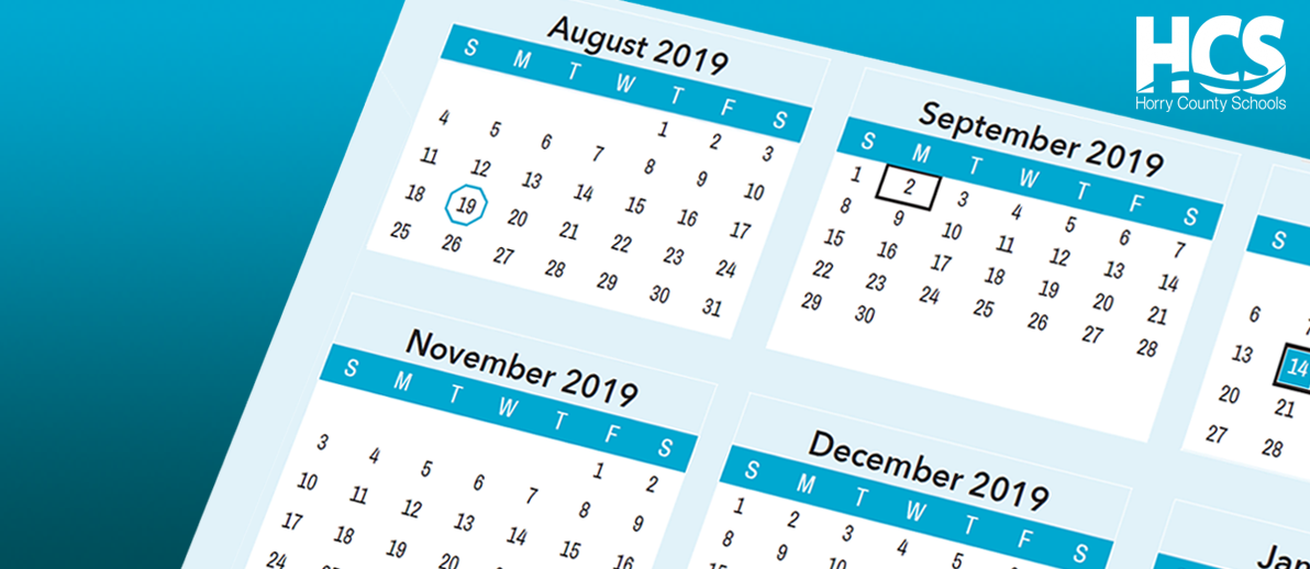 Horry County Schools Calendar 2020 About HCS / HCS Student Calendars